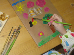 Praxis Lebensspur für Heilpädagogik und Psychotherapie | Methoden | Ausdrucksmalen