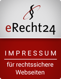 eRecht24 - Rechtssicheres Impressum